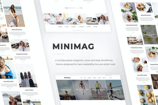 MiniMag -  Dergi ve Blog WordPress Temasısı