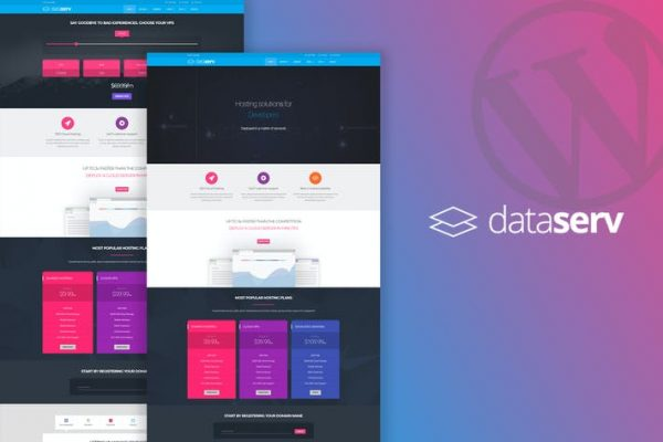 Dataserv - Profesyonel Hosting WordPress Temasısı