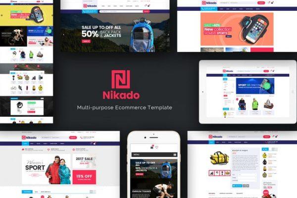Nikado - WooCommerce WordPress için Duyarlı Teması