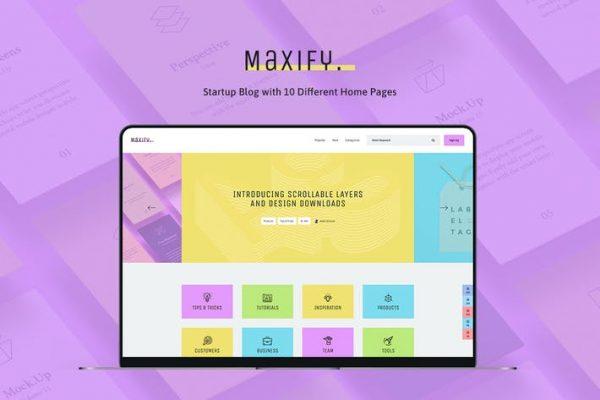 Maxify Teması
