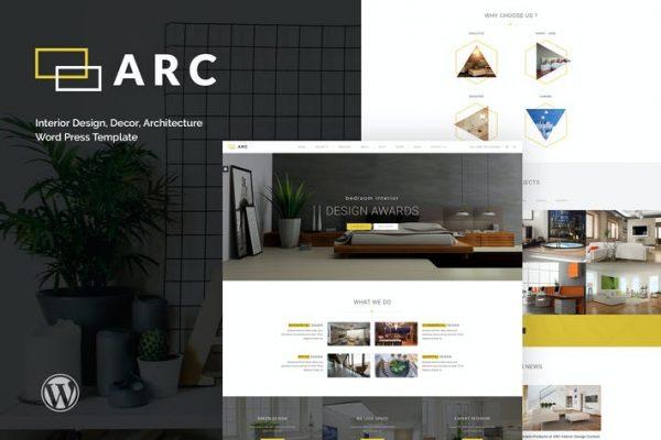 ARC -  İç Tasarım, Dekor, Mimari WordPre