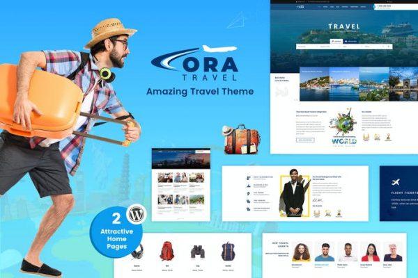 Ora -  Seyahat, Tur Rezervasyon WordPress Teması