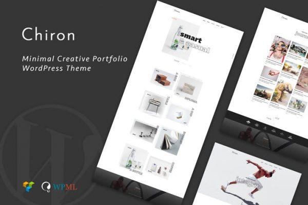 Chiron - Yaratıcı Portföy WordPress Temasısı