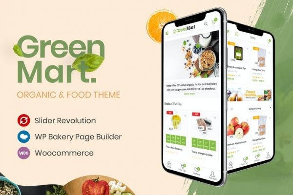 GreenMart - Organik ve Gıda WooCommerce WordPress T