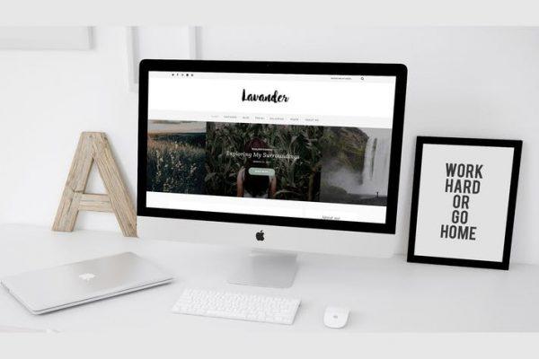 Lavander -  Bir Yaşam Tarzı WordPress Blog Temasısı