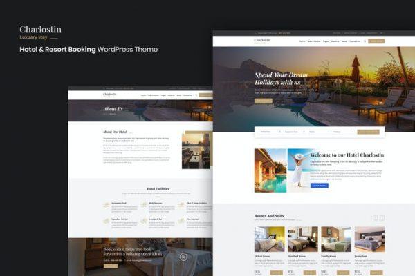 Charlostin -  Otel ve Tatil Köyü Rezervasyonu WordPress