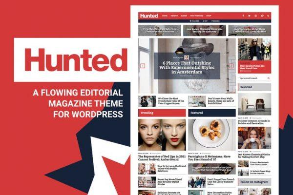 Hunted -  Editörden Dergi Blog Temasısı