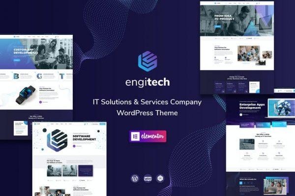Engitech -  BT Çözümleri ve Hizmetleri WordPress Temasısı
