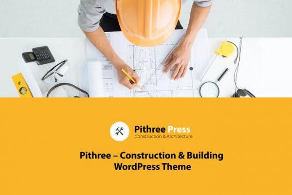 Pithree -  İnşaat ve Yapı WordPress Temasısı