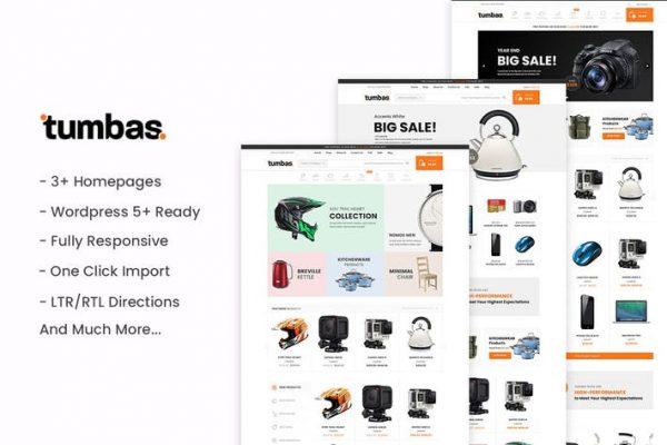 Tumbas - Duyarlı WooCommerce WordPress Temasısı
