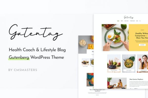 GutenTag -  % 100 Gutenberg Blog WordPress Temasısı
