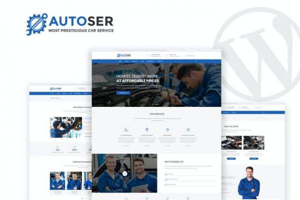 Autoser -  Araba Tamiri ve Oto Servisler WP Teması