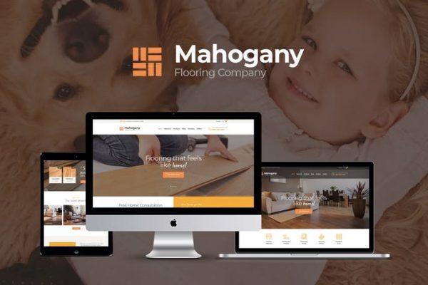 Mahogany Teması