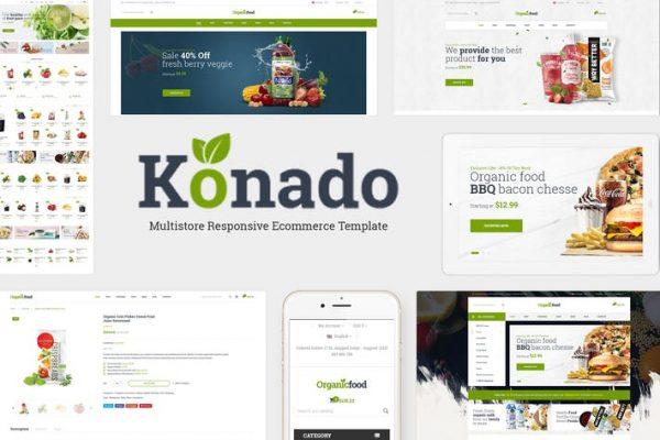 Konado -  Organik WooCommerce WordPress Temasısı