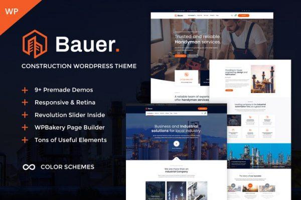 Bauer -  İnşaat ve Endüstriyel Teması