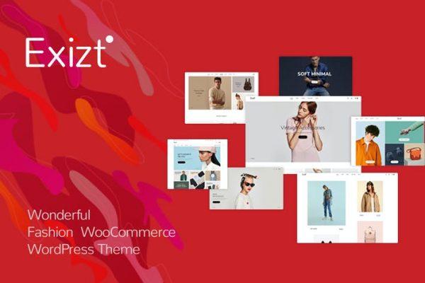 Exizt -  Moda WooCommerce WordPress Temasısı