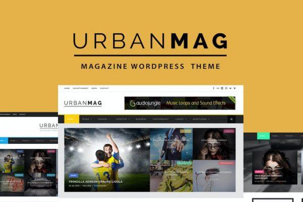 Urban Mag -  Haberler ve Dergi WordPress Temasısı