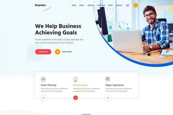 Empelza -  Yaratıcı Ajans WordPress Temasısı
