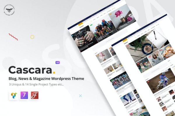 Cascara - Blog, Haber ve Dergi WordPress Temasısı