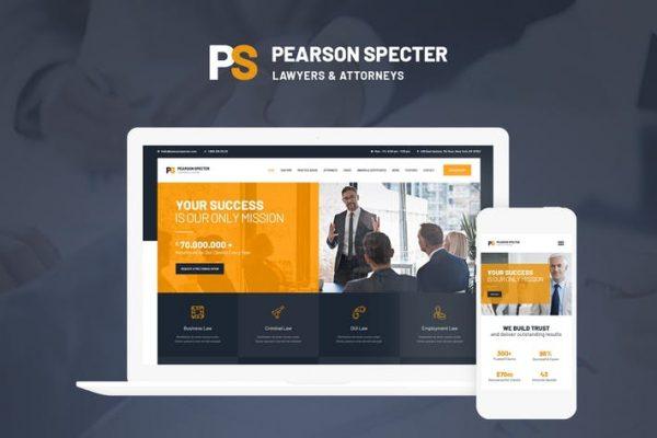 Pearson Specter Teması