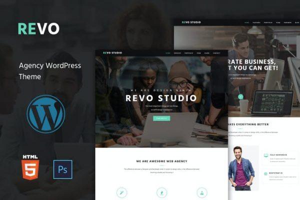 Revo Studio -  Çok Amaçlı WordPress Temasısı