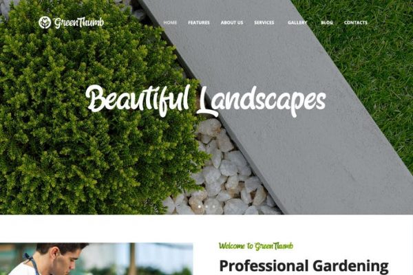 Green Thumb - Bahçe ve Peyzaj Hizmetleri WP