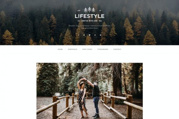 The Lifestyle -  WordPress Blog ve Portföy Temasısı