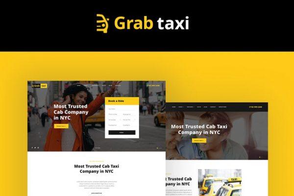Grab Taxi Teması
