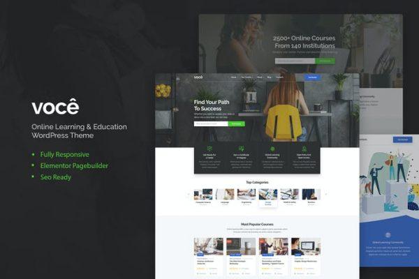 Vocee -  Eğitim ve LMS WordPress Temasısı