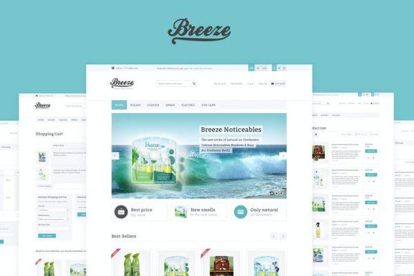 Breeze — Responsive WooCommerce  Teması