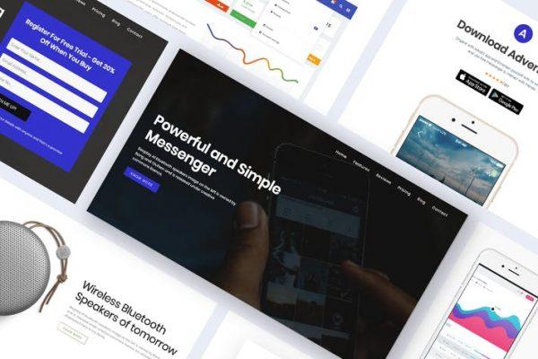 Onepage Digital Marketing WordPress - Advent