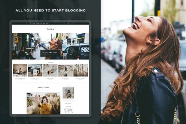 Solien -  Blog ve Mağaza WordPress Temasısı