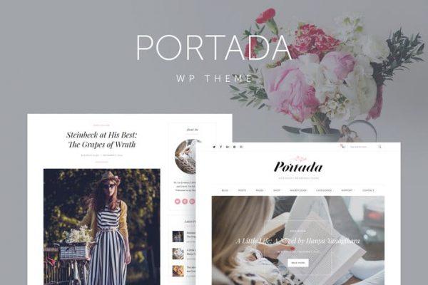 Portada -  Zarif Blog Bloglama WordPress Temasısı