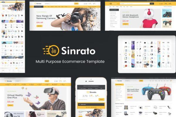 Sinrato - WordPress için Elektronik Teması