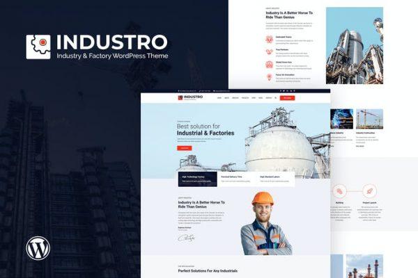 Industro - Sanayi ve Fabrika WordPress Teması