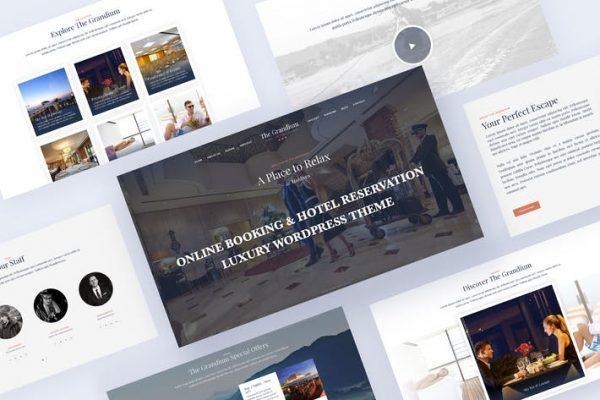 Online Booking Travel WordPress - Grandium