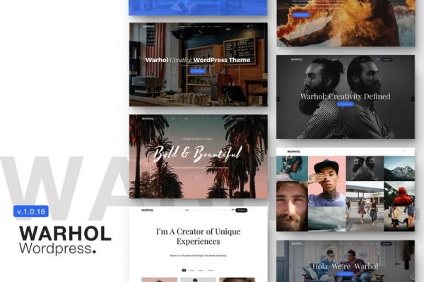 Warhol - Duyarlı Çok Amaçlı WordPress