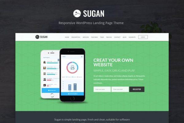 Sugan - Yazılım / Uygulamalar / Mobile WordPress Teması