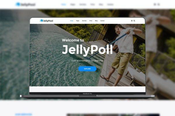 JellyPool Pool Maintenance Teması