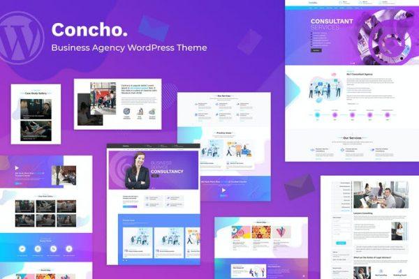 Concho -  Danışmanlık Hizmeti WordPress Temasısı
