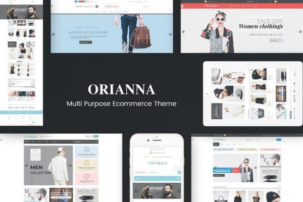 Orianna - Duyarlı WooCommerce Moda Temasısı