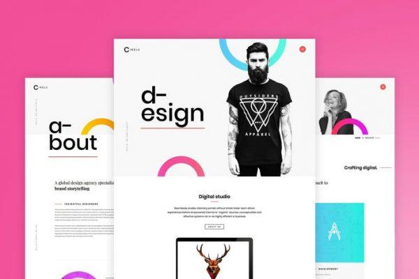 Circle - Yaratıcı Portföy WordPress Temasısı