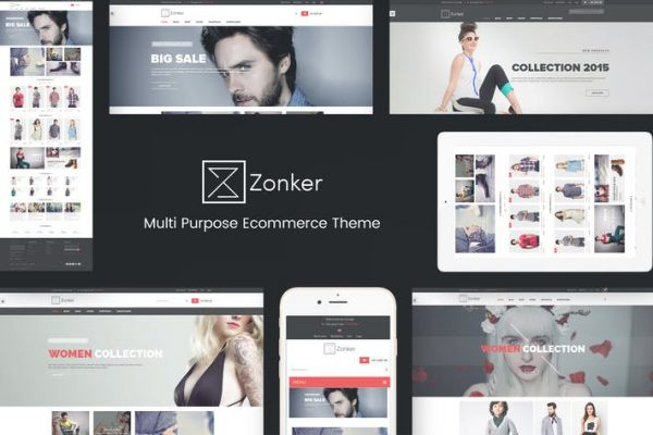 Zonker -  WooCommerce WordPress Temasısı