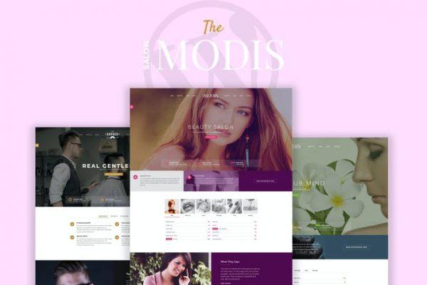 Modis -  Salon & Berber WordPress Temasısı