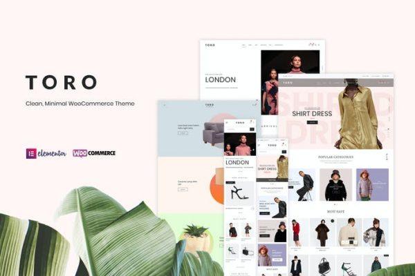 Toro -  Temiz, Minimal WooCommerce Temasısı