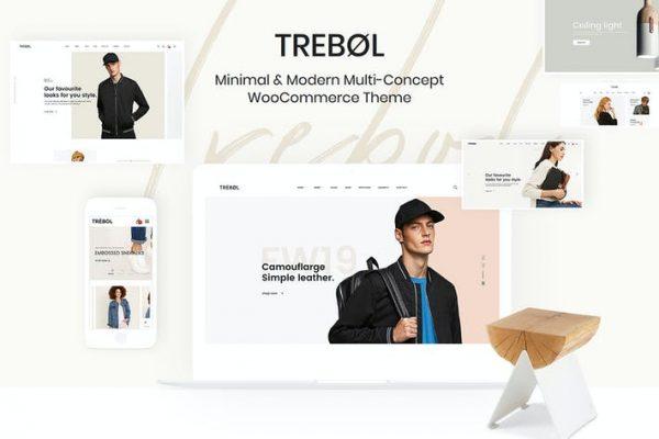 Trebol - Minimal ve Modern Multi
