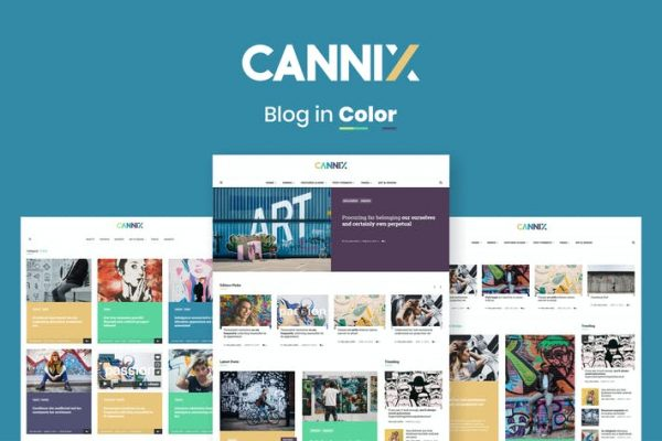 Cannix -  Canlı Bir WordPress Blog Temasısı
