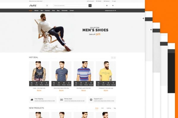 Avaz -  Moda WooCommerce Wordpress Temasısı