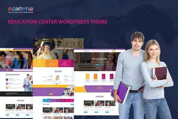 Academia - Eğitim Merkezi WordPress Temasısı