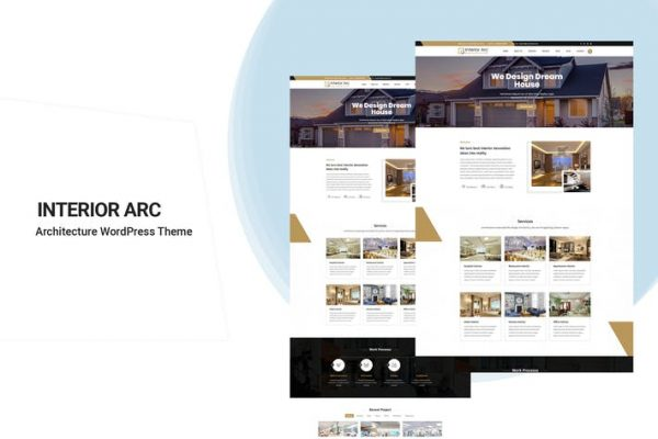 Interior Arc - Mimari WordPress Temasısı